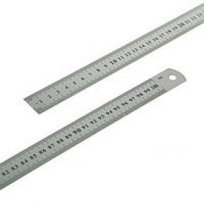Лінійка металева 1м SS100