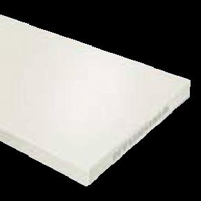 Плита для ручних робіт біла 1000x500x5mm
