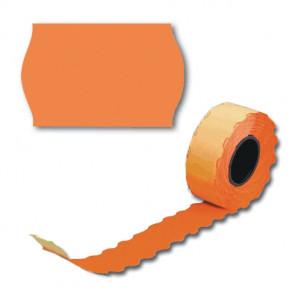 Етикет стрічка оранжева 26х12 (UA)