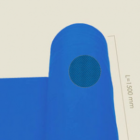 Тканина блакитна 236.V 1.5м