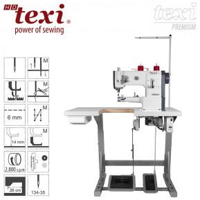 Швейна машина TEXI HD FORTE CILINDRO-B UF PREMIUM