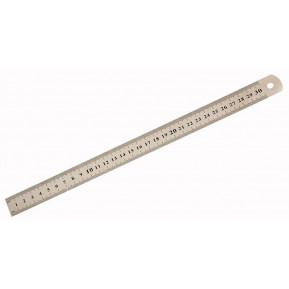Лінійка металева 30см SS30