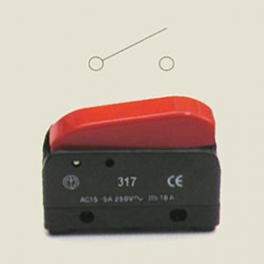 Кнопка праски 317