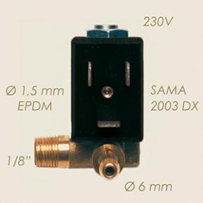 Електромагнітний пружинний клапан 400.DA (TY 6000/C 1/8)