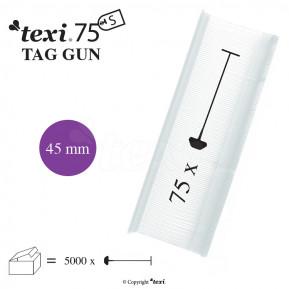 Етикет тримач TEXI 75 PPS NEUTRAL 045