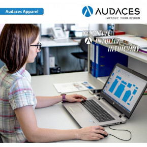 Програмне забезпечення Audaces Apparel - Pattern Design/Marker Making Standard