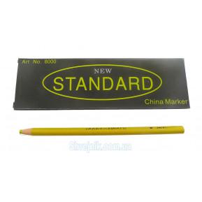 Олівець зникаючий жовтий Standart N8000
