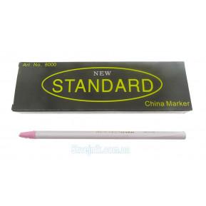Олівець зникаючий білий Standart N8000