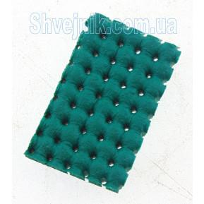 Поролон зелений ELASTIC SILICONE GREEN PERF 1800x900x10mm