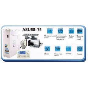Серводвигун з електронікою та позиціонером ASU 58-75