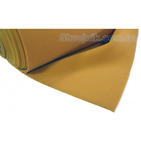 Поролон жовтий 6мм/150см