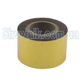 Стрічка печатна золото 3см (рулон-61м)