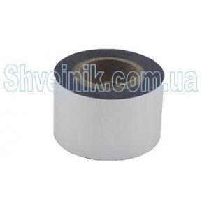 Стрічка печатна срібна 3см (рулон-61м)