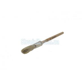 Пензлик круглий дерев`яний довгий N8
