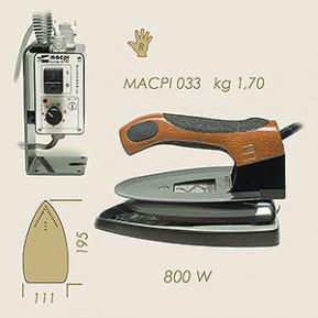Праска електропарова з електронним управлінням MACPI 033  304.S