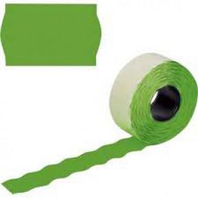 Етикет стрічка зелена 26х12 (UA)
