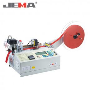 Автоматична машина для нарізки тасьми холодним і гарячим ножем (прямо) з датчиком довжини JM-120HLR
