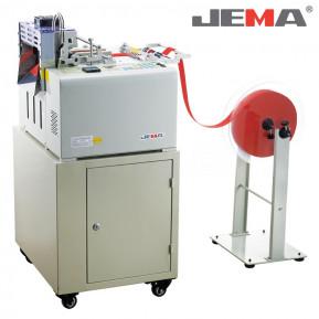 Автоматична машина для нарізки сер. і важ. матеріалів холодним/гарячим ножем (прямо) JM-130LR 200MM