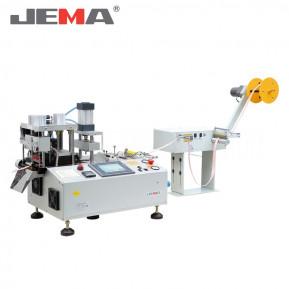 Автоматична машина для нарізки тасьми гарячим ножем (прямо/під кутом) з виконанням отворів JM-150HX