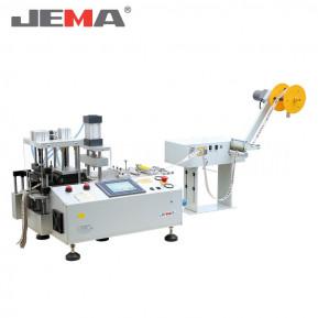 Автоматична машина для нарізки тасьми xолодним ножем (прямо) з виконанням отворів JM-150L