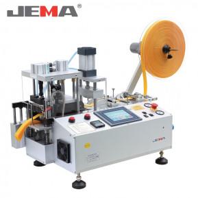 Автоматична машина для нарізки тасьми xолодним/гарячим ножем (прямо) з виконанням отворів JM-150LR